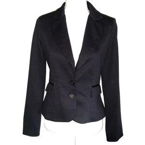Matty M Black Double Button Blazer Jacket Small